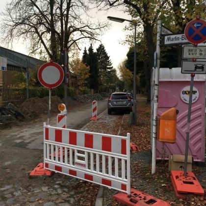 Fahrradstraße Anhaltinerstraße ausbauen