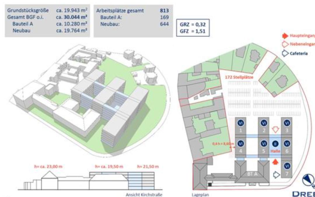 Rathaus-Areal bis 2025 komplett neu gestalten